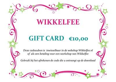 Gift-card 10 euro
